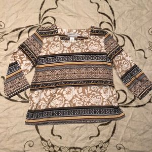 Alfred Dunner Print Blouse